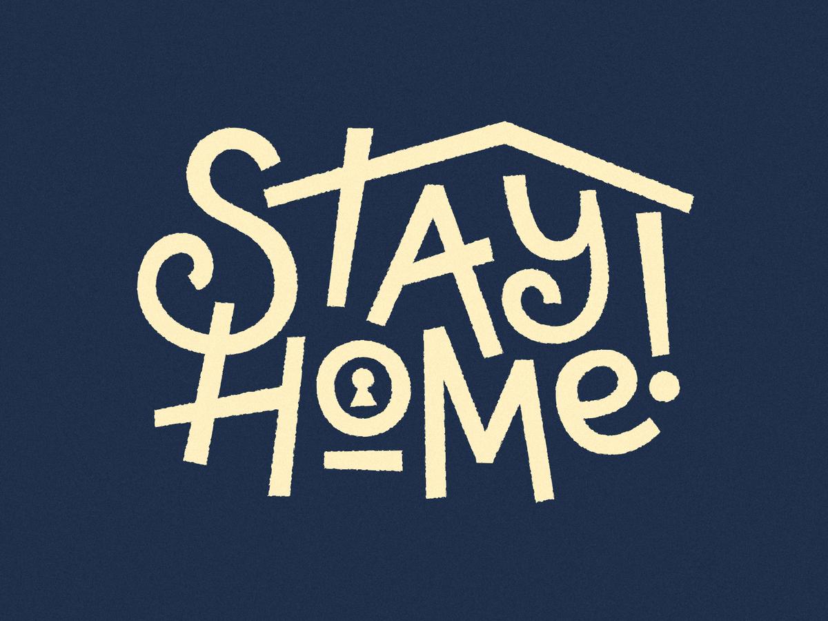 Gambar Ilustrasi Stay At Home Ada Stiker Stay Home Di Instagram Begini Cara Pakainya Gowest Id
